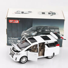 Scale Toyota Alphard Diecast Model Car Toy Collection Limousine New in Box 1:24