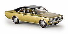 Brekina 20654 Opel Rekord C Coupé, gold/schwarzes Dach - von Drummer 1:87