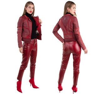 RRP €2450 PHILIPP PLEIN Suede Leather Jacket Size S LIMITED EDITION HANDMADE