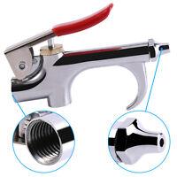"Zinc Alloy 1/4""Air Compressor Blow Kit Blower Dust Removing Gun Tool & Nozzle"