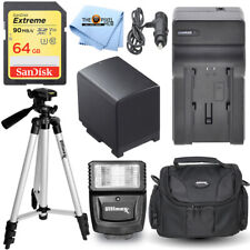Paquete de accesorio esencial para Canon HF G50, HF G60, XA5055, XA XA10, XA11, XA15