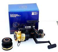 NEW Quantum Cobra QC4 Medium Freshwater Spinning Fishing Reel + Freel Xtra Spool