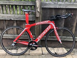 Specialized S-Works Transition carbon road bike triathlon time trial SRAM Red L