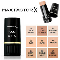 MAX FACTOR Pan Stik Panstik Full Coverage Foundation Stick NEW *ALL SHADES*