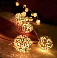 Cotton Balls Fairy Lights