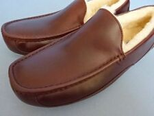 UGG AUSTRALIA Ascot Dark Red Brown Cordovan Color Leather New Without Box US 17