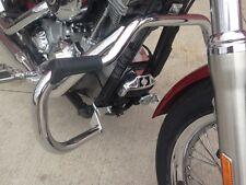 Harley Engine Crash Guard Highway Bars 06-17 Dyna street fat bob switchback fxdb