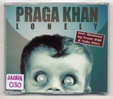 Praga Khan Maxi-CD Lonely - 6-tr. incl. REMIXES by Front 242 & Talla 2XLC remix