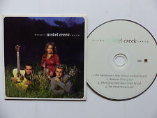 CD Sampler 4 titres NICKEL CREEK PR003081