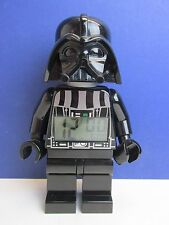 "STAR WARS GRANDE LEGO Darth Vader Sveglia minifigura KID 9"" K17"