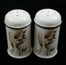 Stonehenge Midwinter Wild Oats Pattern Salt & Pepper Shaker Set