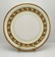 Vintage Meito China Asama Shape Salad Plate Gold Trim