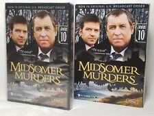 Midsomer Murders Series 10 (Ten, DVD, 2014, 4-Disc Set) NEW w Slipcover REGION 1