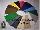 Bügelflicken Aufbügler Stoffflicken Flicken Baumwolle 43x20  versch.Farben Menge