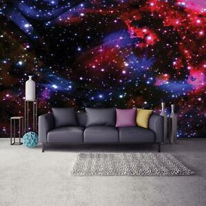 Vlies Fototapete Weltraum Galaxy Sternenhimmel Kosmos Kinderzimmer Sterne 21