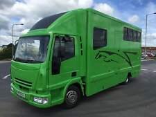 IVECO EUROCARGO HORSEBOX MAN DAF MERC 7.5 ton   HORSELORRY HORSEBOXES