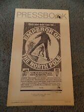 EMPEROR OF THE NORTH(1973)LEE MARVIN ORIGINAL PRESSBOOK