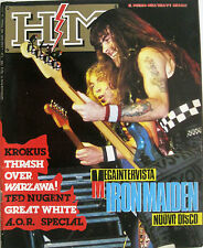 HM 39 1988 Iron Maiden Great White Joey Tafolla Lee Geddy Krokus Ted Nugent