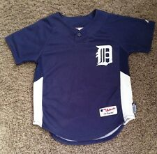 DETROIT TIGERS # 30 ORDONEZ  BUTTOM DOWN MLB BASEBALL JERSEY BY MAJESTIC  YTH. S