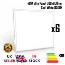 48W 600x600 LED Encastré Lumière Plafond Panneau Blanc Froid bordure