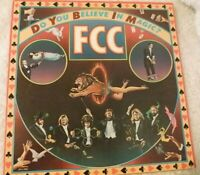 """PROMO: """"DO YOU BELIEVE IN MAGIC?"""" BY FCC; 12"""" VINYL LP RECORD; 1980; AFL1-35 VG+"""