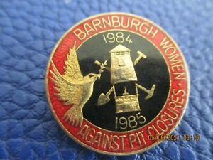 Mining Miners Pit Colliery Num Strike Badges 84-85 barnburgh