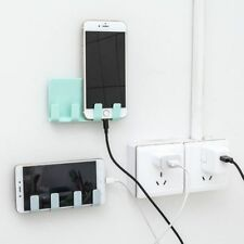 Creative 4 Hooks Phone Charging Holder Wall Hanger Mounted Cell  Phone  Bracket