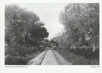 "*Arizona Postcard-""Train Entering Tempe...AZ Eastern Railroad"" *Tempe- (ID-5)"