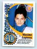 1992-93 Quebec Pee-Wee Tournament Danone Limited Maxime Lapierre RC #247