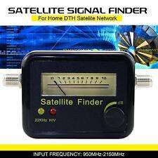 Segnale analogico Satellite finder Misuratore con precisione per SAT Piatto Directv UK