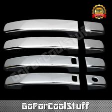 For Nissan Maxima 2004 2005 2008 Chrome 4 Door Handles Cover With Smart Keyhole