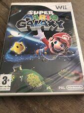 SUPER MARIO GALAXY Nintendo WII VF NEUF SOUS BLISTER Rare