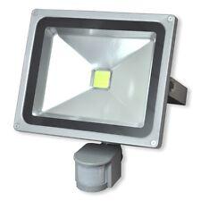 LED Flutlichtstrahler 30W mit Bewegungsmelder - Scheinwerfer Außenstrahler IP65
