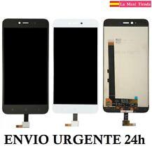 """Pantalla Completa para """"Xiaomi Redmi Note 5A"""" Blanca Negra LCD Tactil Display"""