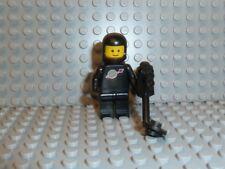 LEGO® Classic Space Figur Astronaut schwarz Airtank Detektor 6985 6891 6971 F581