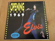 Elvis Presley cd - Opening Night 1969 - RARE AND HARD TO FIND CD!