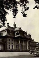 Dresden Sachsen DDR Postkarte s/w Ansicht Schloss Pillnitz Barrockschloss