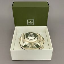 Christofle Paris French Silver Plate Caviar Dish in Original Box
