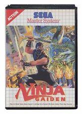 Action/Adventure Video Game for Sega Master System