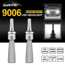 2X AUXITO 9006 HB4 LED Headlight Kit CREE Low Beam Bulbs 6500K White Lamp Lights