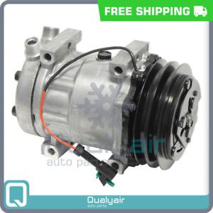 AC Compressor fits Western Star 4800, 4900, 4900E, 4900EX, 4900FA, 4900SA.. QH