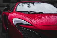 G1217 McLaren Speedtail Stratosphere Red Supercar Laminated Poster FR