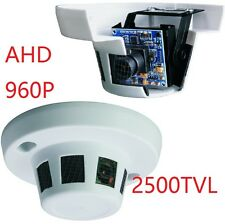 AHD 2500TVL SMOKE ALARM HIDDEN CCTV SPY SECURITY CAMERA SURVEILLANCE CAM 960P