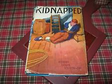 KIDNAPPED Robert Louis Stevenson - Books, Inc HC/DJ