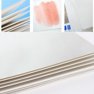 20 Sheets 64K Watercolour Paper Card Smooth (Textured) White 300gsm Art Supplies