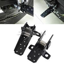 Bicycle Steel Foldable Folding Fork Foot Step Pegs Black MTB BMX Road Bike Black