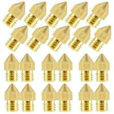 10/5 x für Ender 3 PRO CR10 3D-Drucker Messingdüsen MK8 0,3/0,4/0,5/0,6/0,8/1mm