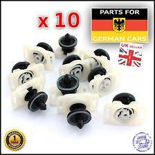VW & Polo PHAETON (02-14) PANNELLO PORTIERA TENUTA CLIP FISSAGGIO & PIASTRA X 10