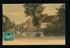 France Oise LE FAY-SAINT-QUENTIN Mare de la Croix duck pond 1911 PPC