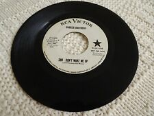 BARKER BROTHERS  SHH-DON'T WAKE ME UP/I GOTTA KNOW RCA 8405 PROMO